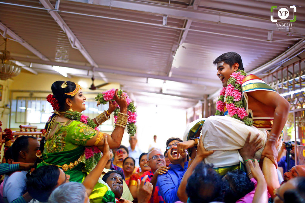 Jagan & dhanya Wedding Coimbatore Gandhipuram - Yabesh Photography